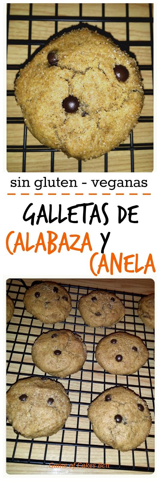 Galletas de calabaza y canela , sin gluten, veganas