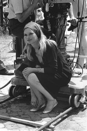 "Brigitte Bardot in ""Le Mépris"", 1963 ~ vintage everyday"