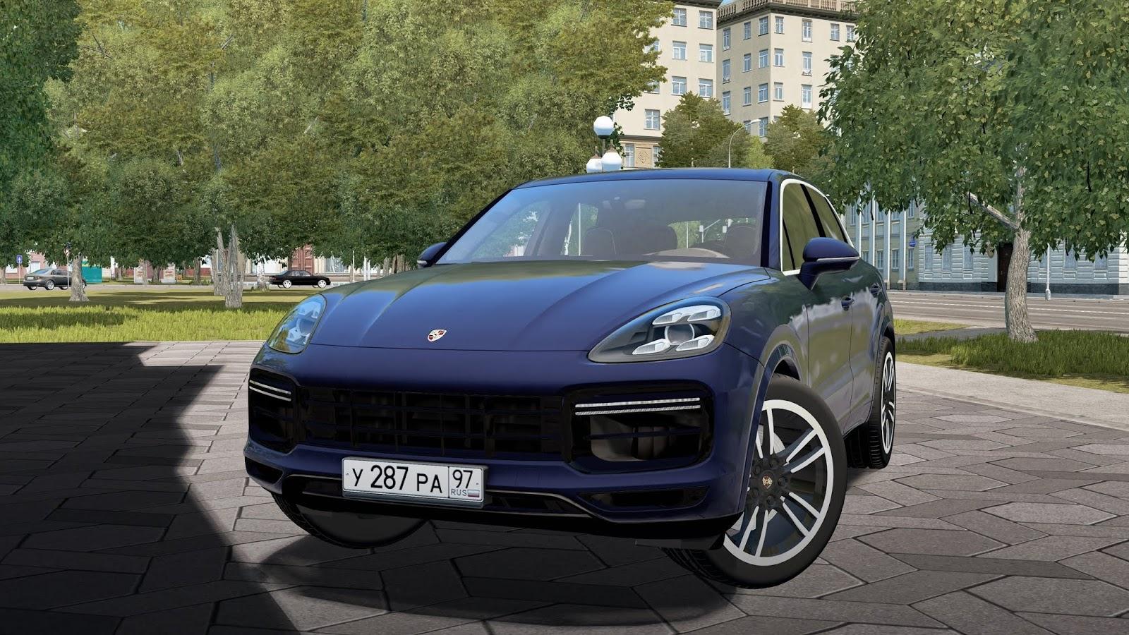 2019 Porsche Cayenne Turbo City Car Driving 1 5 7 Mod