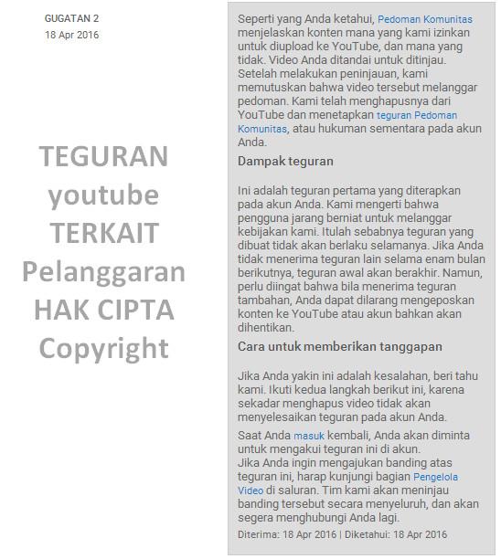 Bahaya Penggunaan Music dan Video Berlisensi di Youtube