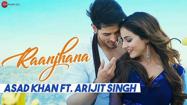 Raanjhana Lyrics - Arijit Singh