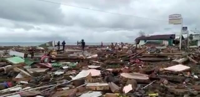 Ibu dan Anak Ahok Hilang Dihantam Tsunami