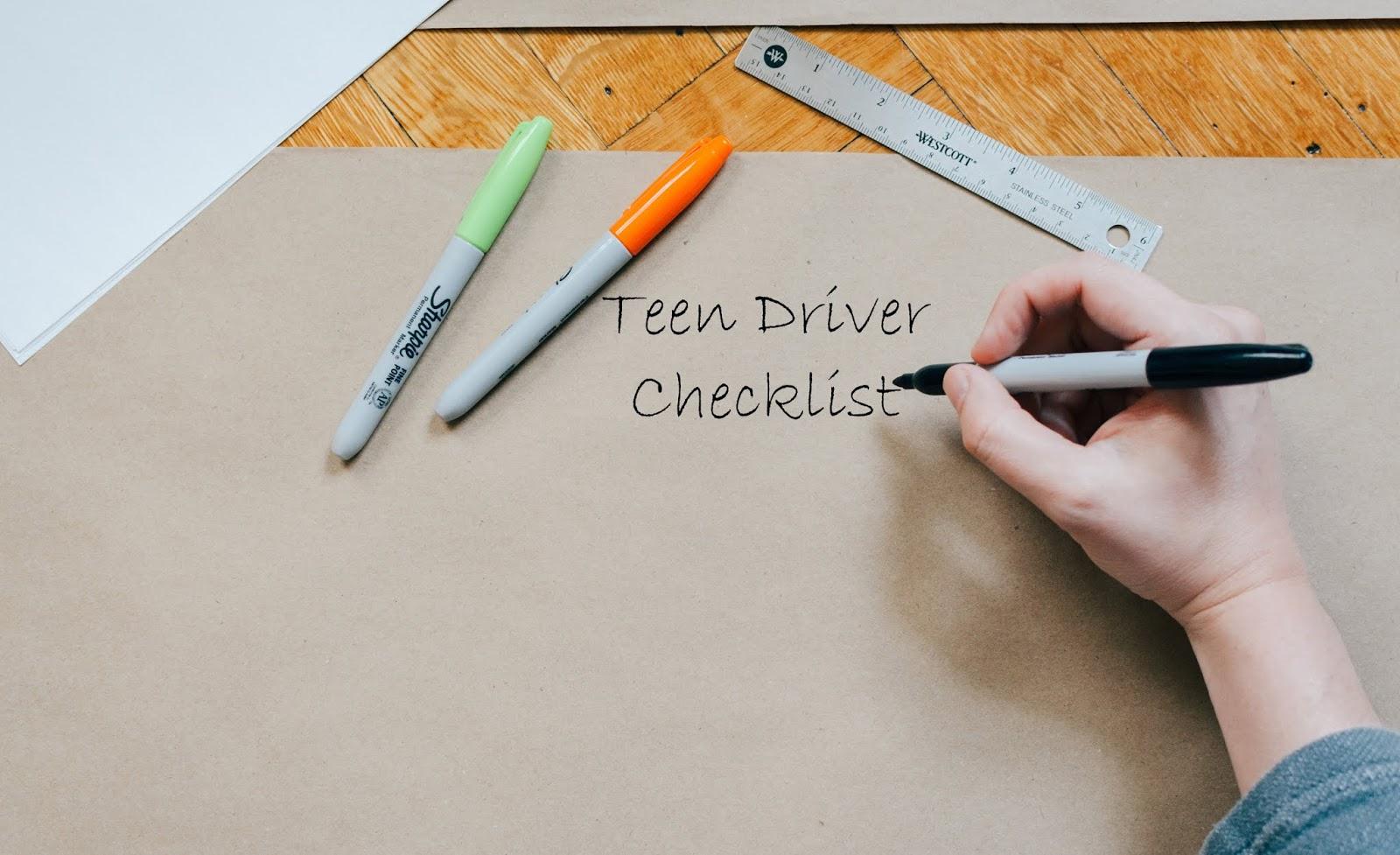 New Teen Driver Checklist Nycm Insurance Blog