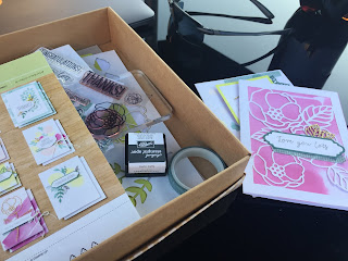 Soft Sayings Card Kit, Crafting Outside