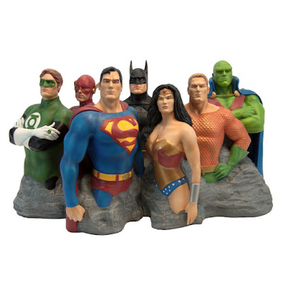 Justice League Original 7 Fine Art Sculpture by Alex Ross x Factory Entertainment