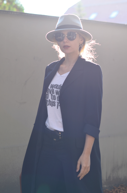 hat hathat; kapelusz hathat; long coat;  ootd; by malene birger;