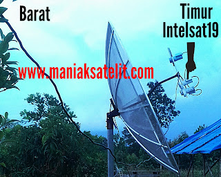 Cara Tracking Satelit Intelsat 19 (Fiji TV,Liga HD,ESPN,EUROSPORT)