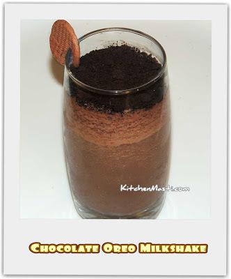 Chocolate Oreo Milkshake