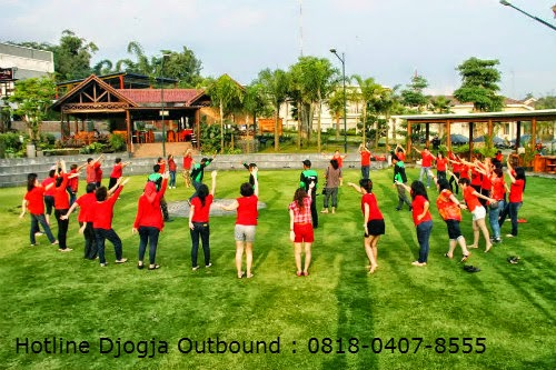 gambar paket outing dan outbound fun games di Jogja