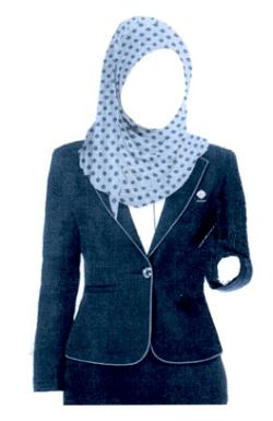 blazer wanita jilbab