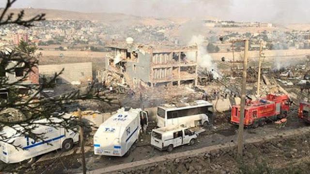 Τουλάχιστον εννέα νεκροί από ισχυρή έκρηξη στην Τουρκία