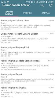Lokasi pengurusan pasport layanan online di Jakarta