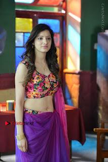 Actress Richa Panai Stills in Half Saree at Rakshaka Bhatudu Sets  0008.JPG