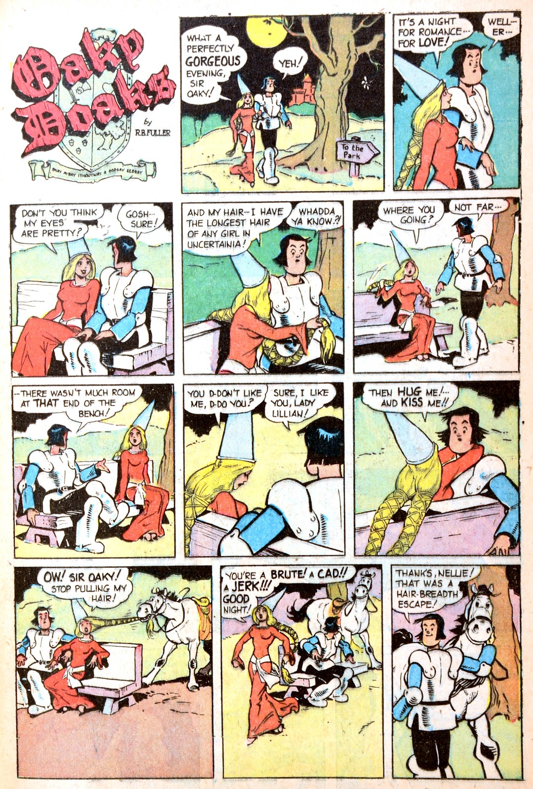 Read online Famous Funnies comic -  Issue #195 - 35