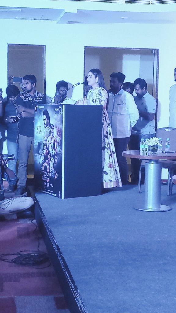 Tamanna at Baahubali 2 Tamil Movie Press Meet Photos