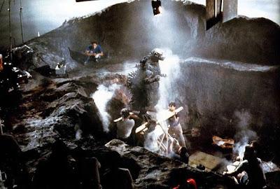 The Return of Godzilla detrás de las cámaras