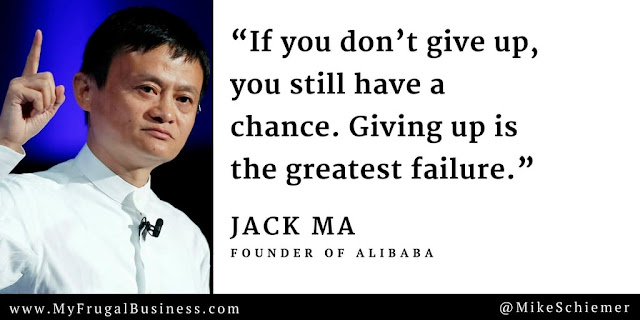 Bootstrap Business Jack Ma Quotes