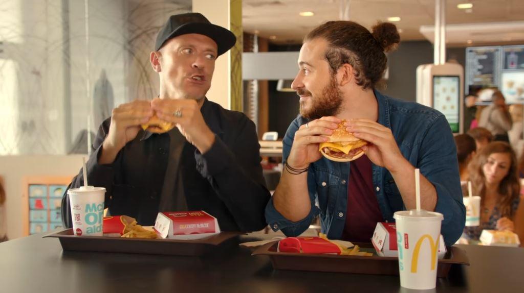 Max Pezzali testimonial spot McDonald's Gran Crispy McBacon pubblicita 2016