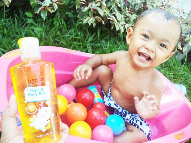ReviewBambi Hair & Body Bath dan Bambi Lotion Anti Nyamuk untuk Bayi dan Balita