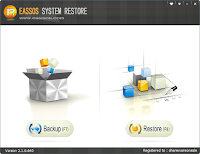 Eassos System Restore Full version Screenshot 1