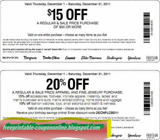 Click to save big with latest Carson Pirie Scott coupon & promo codes. Check out the best carson pirie scott coupons of January now.