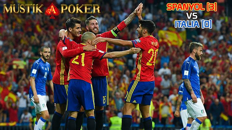 Spanyol Kalahkan Italia 3-0 Tanpa Balas ~ Liputan Terbaru