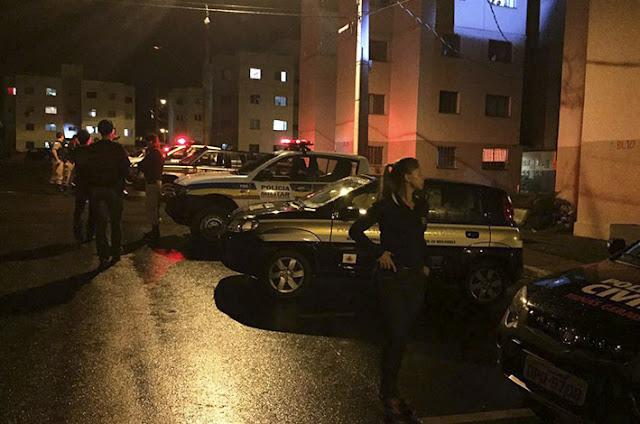 Polícias Militar, Civil e Guarda Municipal realizam operação presença em Alfenas (MG)