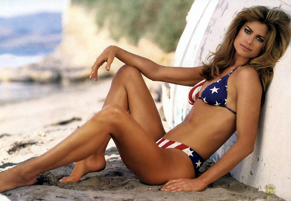 Kate beckinsale amp kathy griffin bikini runway