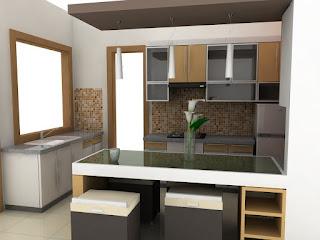 Cat Rumah Minimalis dapur minimalis