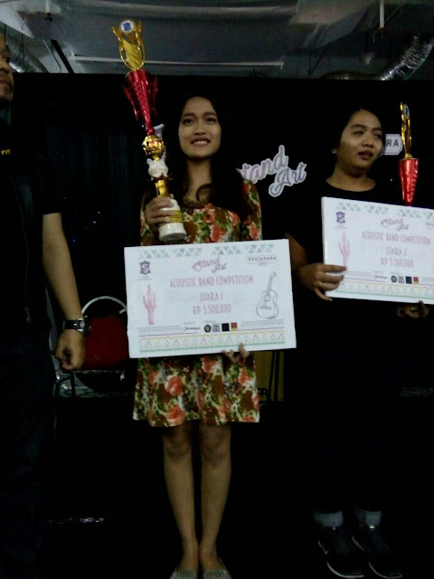 Juara 1 Acoustic Band Competition 2016