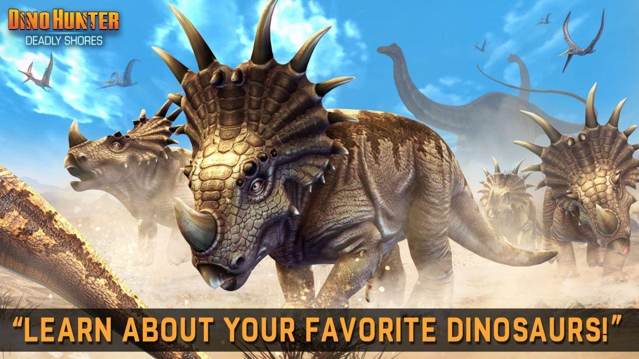 تحميل لعبة صيد الديناصورات Dino screen-3.jpg