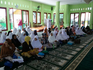 Edukasi Kesehatan kepada Calon Jamaah Haji Kota Pariaman bersama GEMAHATI dan SUSU HAJI SEHAT, Sumatera Barat