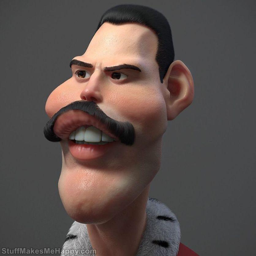 2. Freddie Mercury