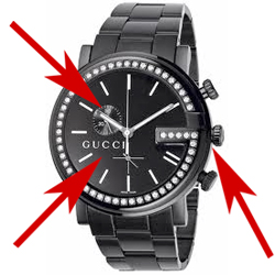 8180c0ca5 Gold and Silver Hallmarks  Is my Gold Gucci Watch a fake