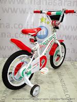 Sepeda Anak United Soccer Italy Gli Azzuri 16 Inci
