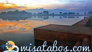 Berwisata ke Peninggalan Majapahit Kolam Segaran di Trowulan