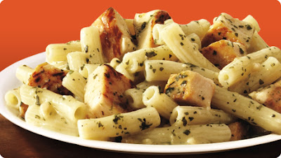 Healthier Version of Stouffer's Rigatoni with Chicken and Pesto