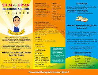 download brosur penerimaan siswa baru cdr