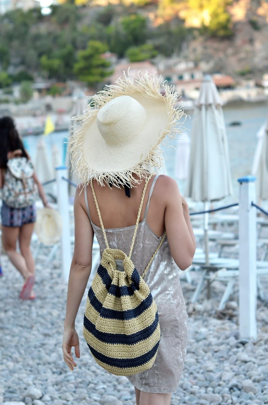 Taormina | sycylia | wycieczka | plecak ze sznurka