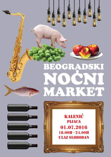 II Beogradski noćni market - Kalenić pijaca 01.07.