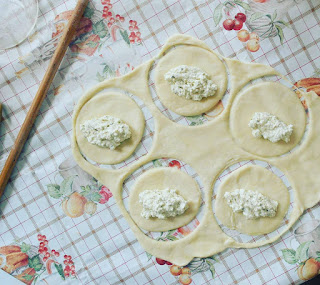 pesto empanadas