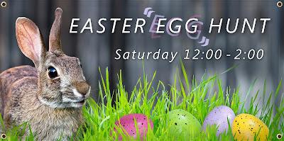 Easter Egg Hunt Banner | Banners.com