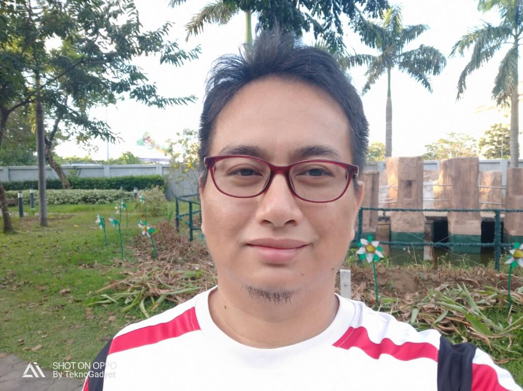 OPPO R17 Pro Front Camera Sample - Selfie with AI Beautification