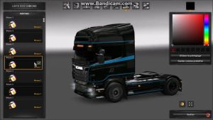 Skins for Scania R by American-Express