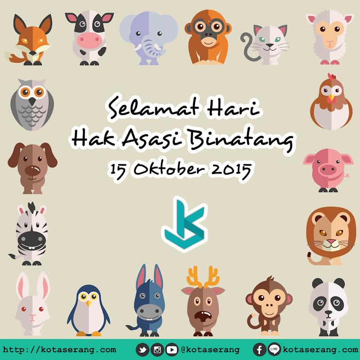 Gambar Vector - Gambar Peringatan Hari hak asasi binatang 15 Oktober 2015