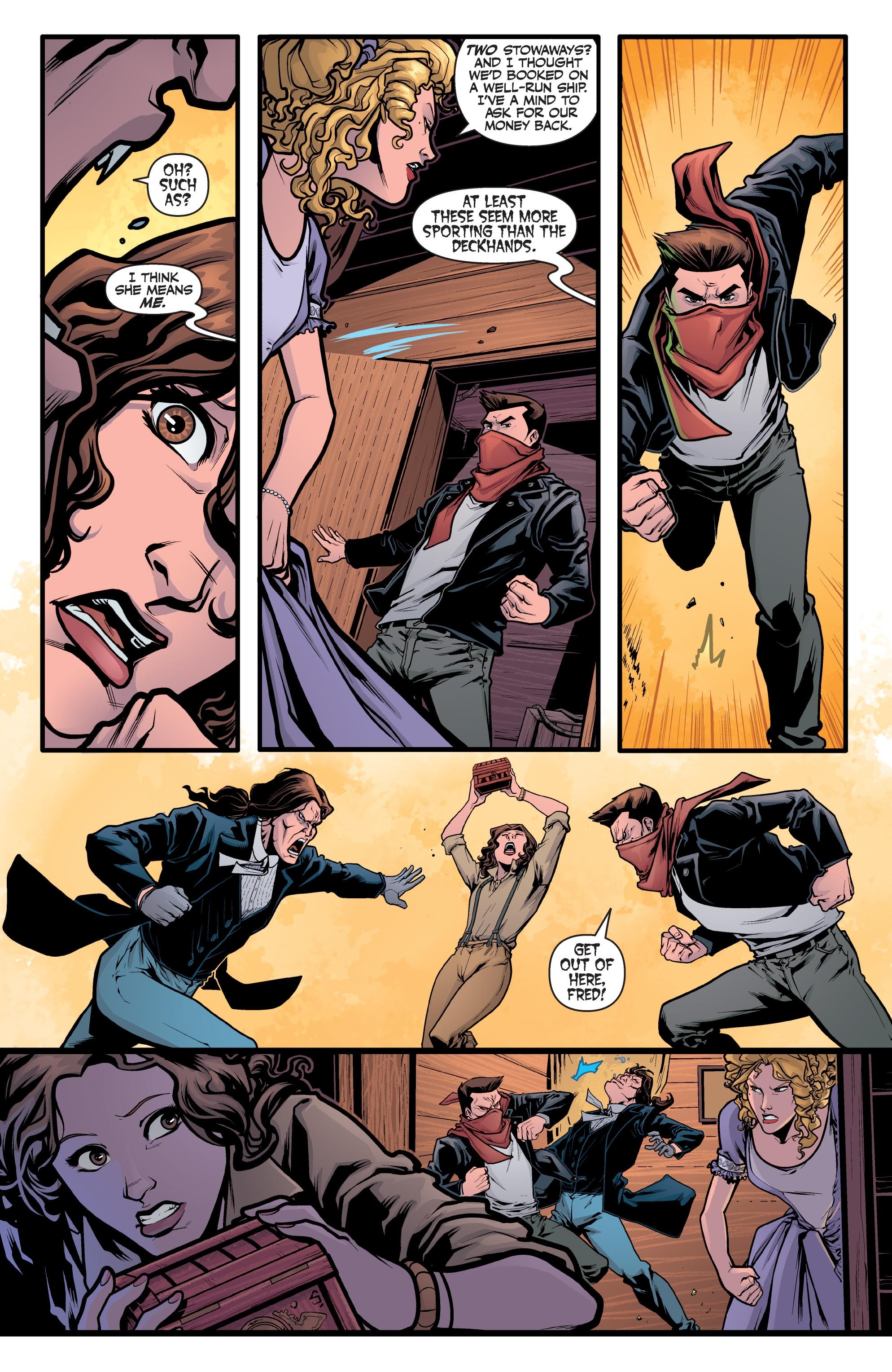 Read online Angel Season 11 comic -  Issue #6 - 5