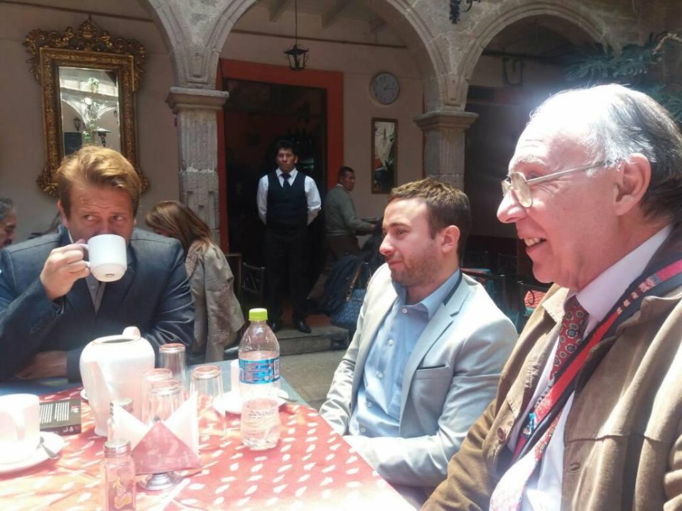 Los tres conferencistas del liberalismo cumplirán una apretada agenda en La Paz y El Alto