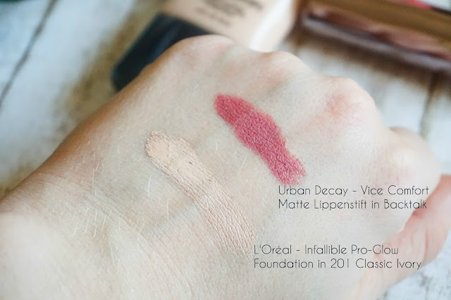 Urban Decay - Vice Comfort Matte Lippenstift in Backtalk
