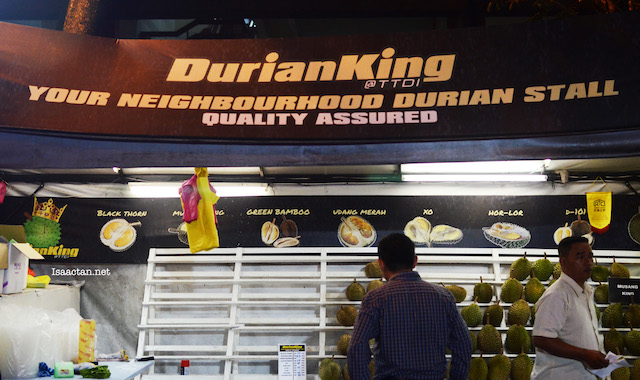 Durian King TTDI - Your Neighbourhood Durian Stall