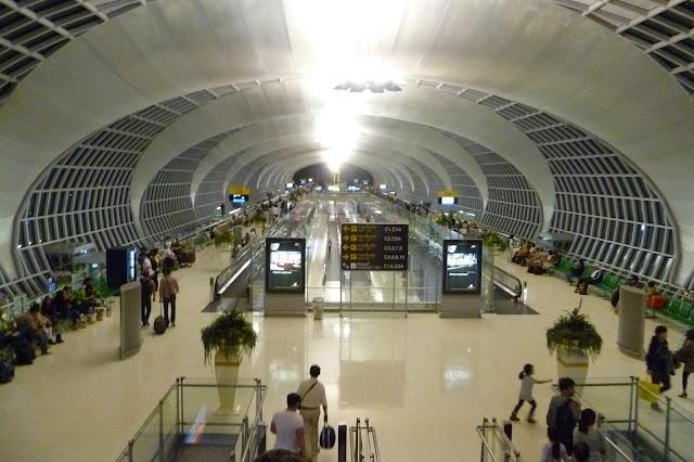 Lotnisko w Bangkoku